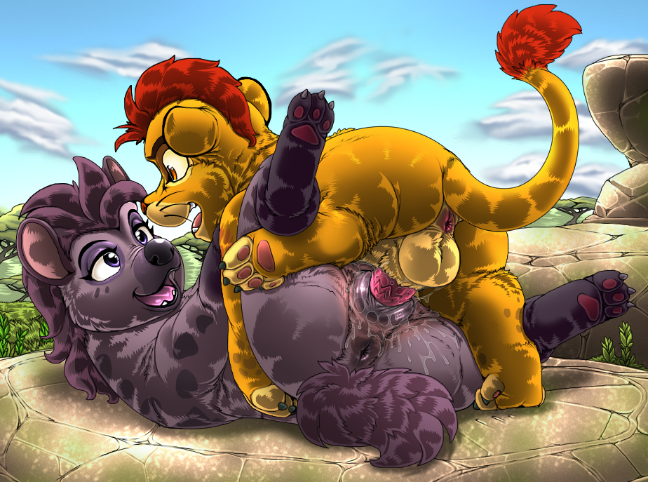 guard fuli kion lion and Anime girls with huge breasts
