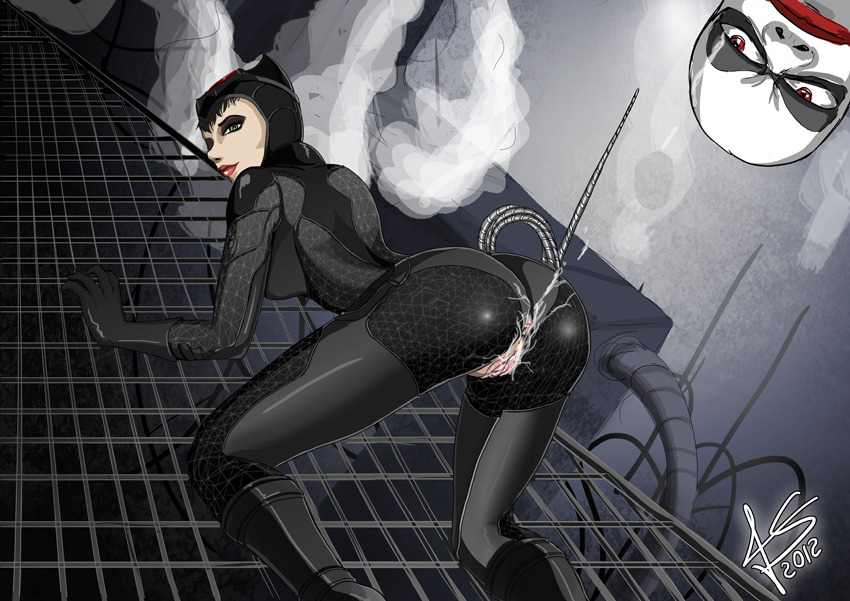to catwoman arkham how batman in get city Summer rick and morty nude