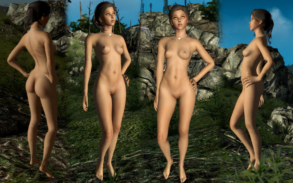 mod glorious nude 4 female fallout Archer clash of clans naked