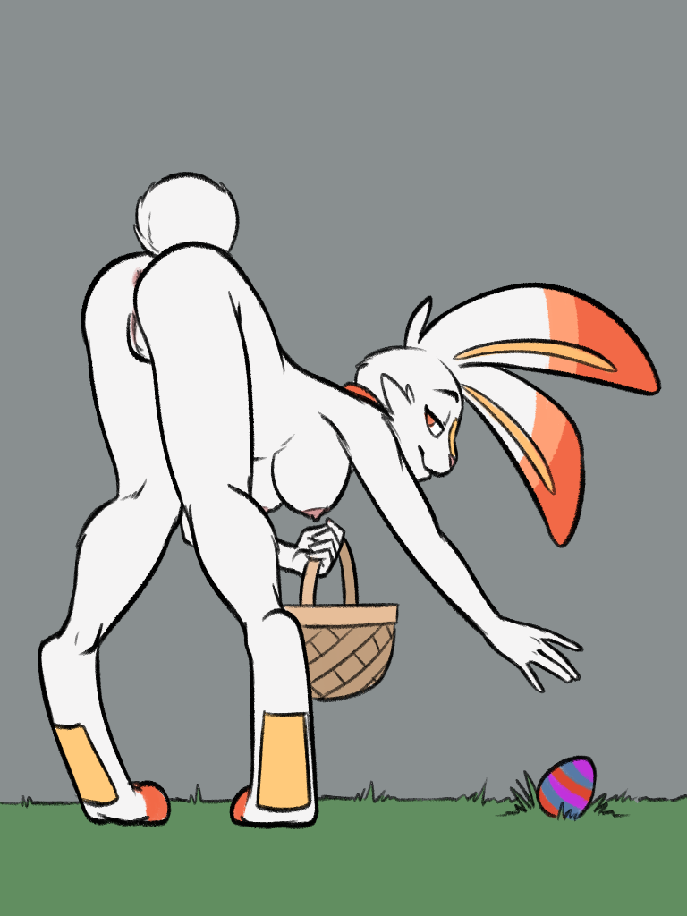 painted easter breasts eggs like No game no life incest