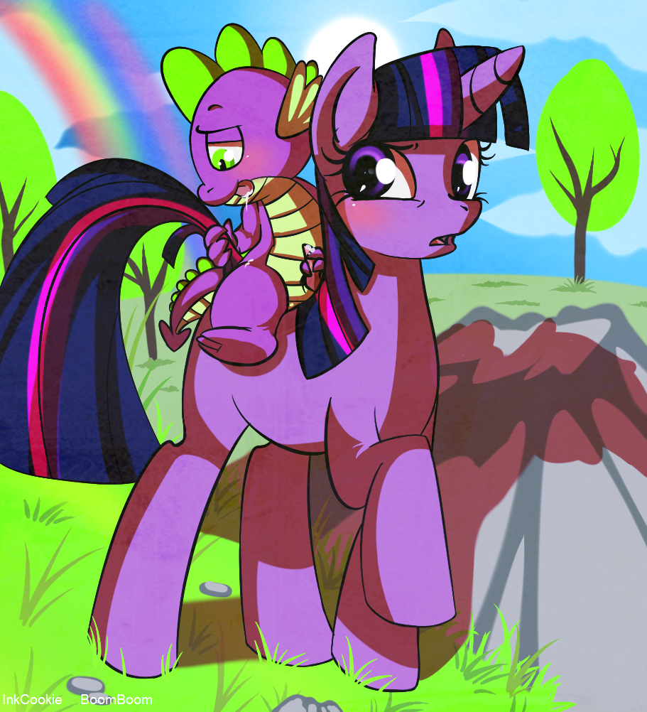 tlckle magic my friendship pony is little spike Shrinking woman out of clothes