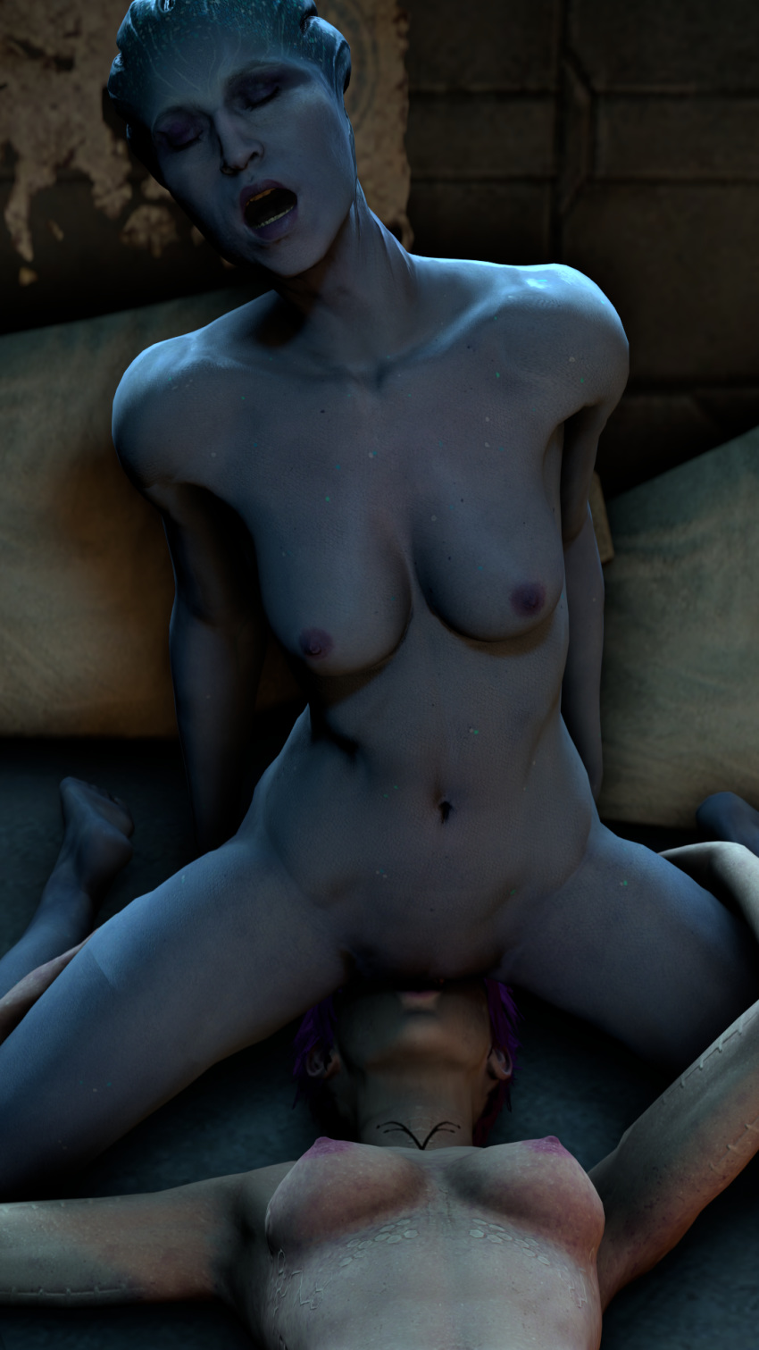ryder andromeda mass effect nude Lamentations of the flame princess wiki