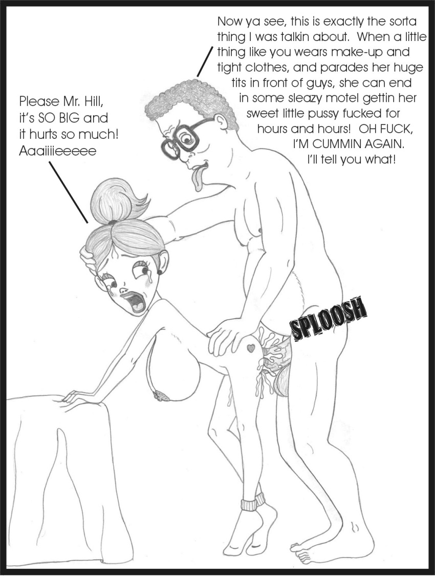 of king the hill comics porn Objects that i've shoved up my arse