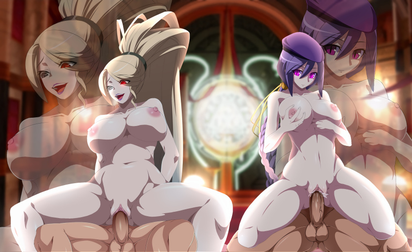 under in birth night sion Clothed male, naked female